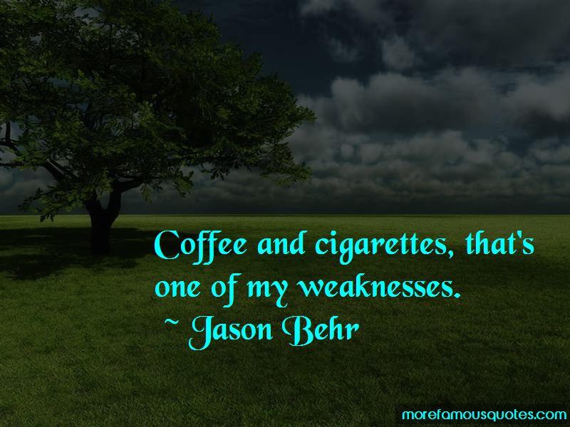 Jason Behr Quotes