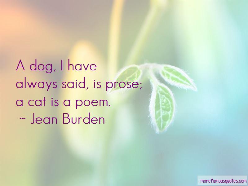 Jean Burden Quotes Pictures 2