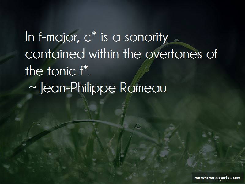 Jean-Philippe Rameau Quotes Pictures 2
