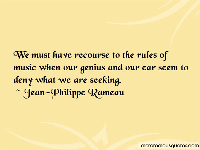 Jean-Philippe Rameau Quotes