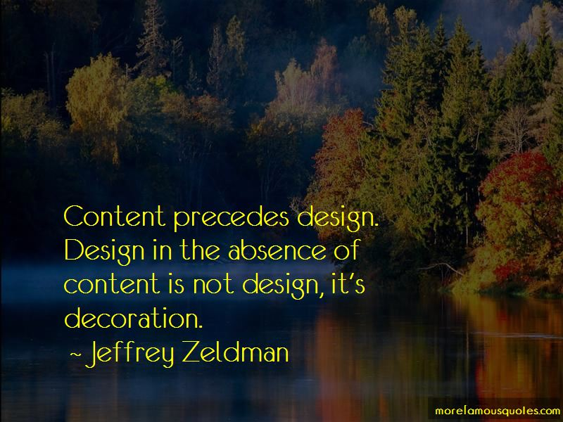 Jeffrey Zeldman Quotes