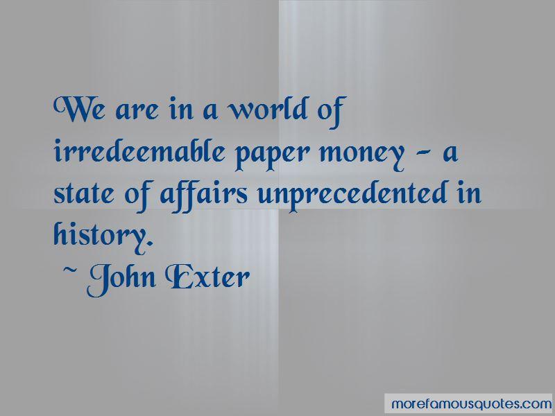John Exter Quotes