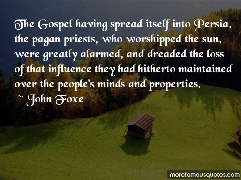 John Foxe Quotes