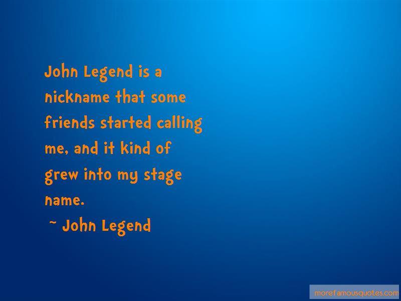John Legend Quotes