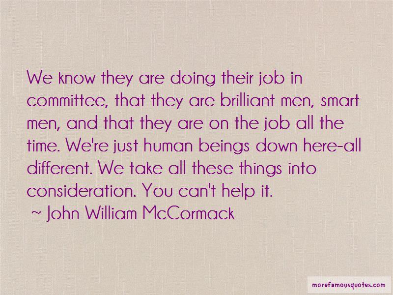 John William McCormack Quotes