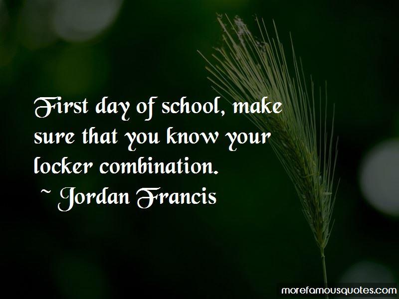 Jordan Francis Quotes Pictures 3