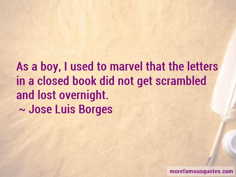 Jose Luis Borges Quotes