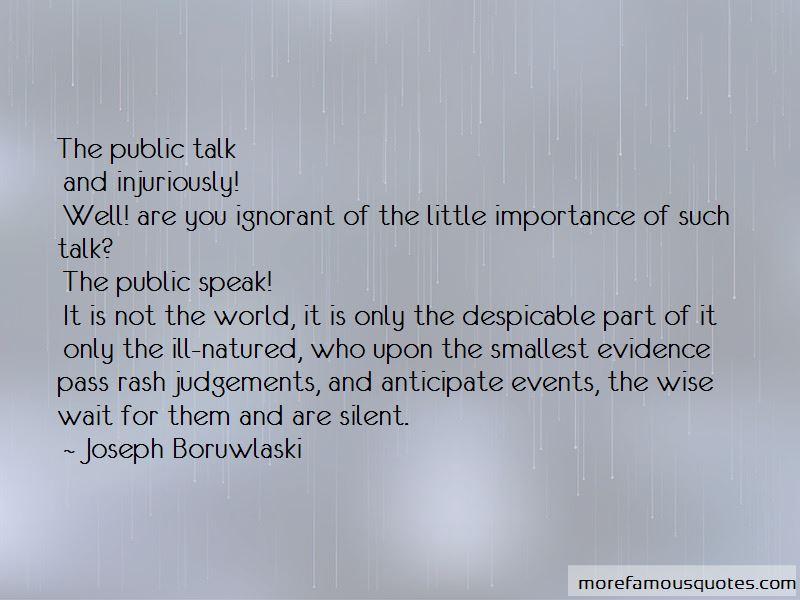 Joseph Boruwlaski Quotes