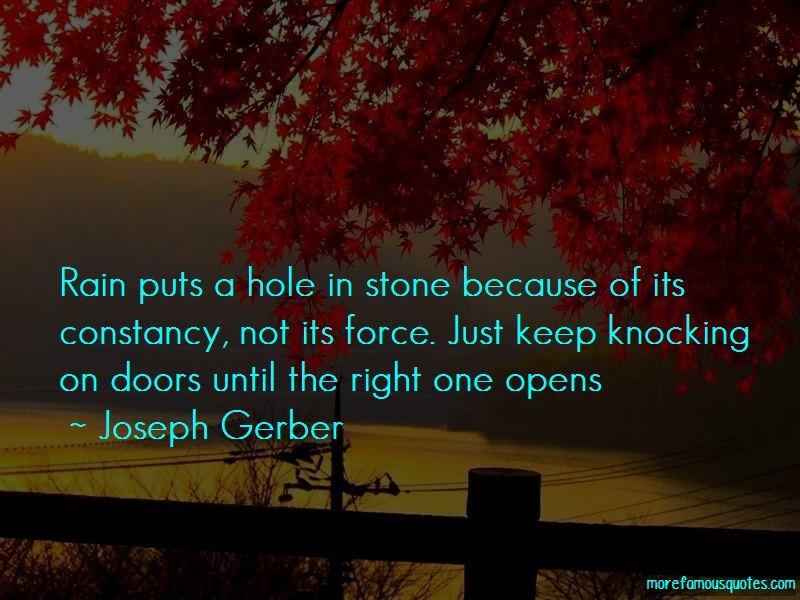 Joseph Gerber Quotes