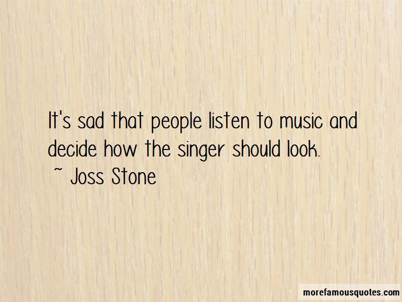 Joss Stone Quotes