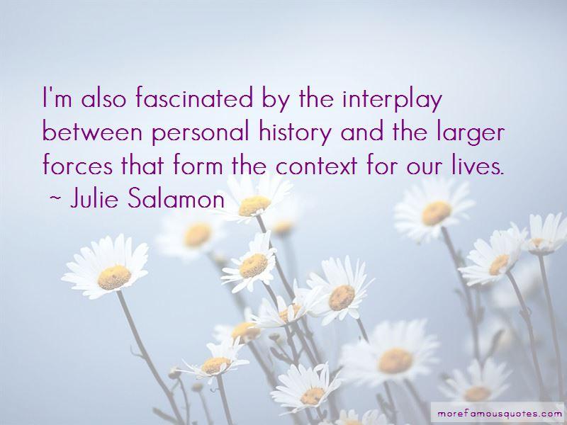 Julie Salamon Quotes Pictures 4