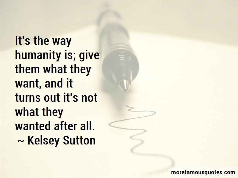 Kelsey Sutton Quotes Pictures 2