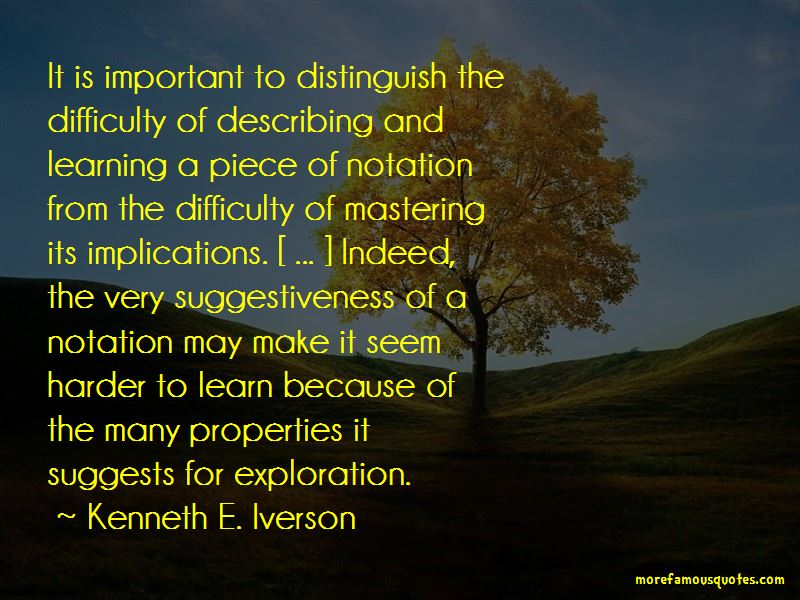 Kenneth E. Iverson Quotes Pictures 4