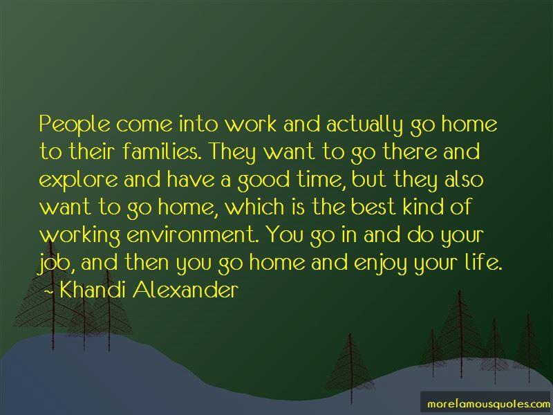 Khandi Alexander Quotes Pictures 2