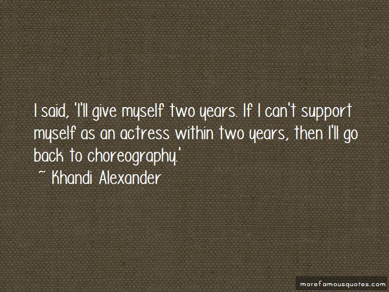 Khandi Alexander Quotes Pictures 3