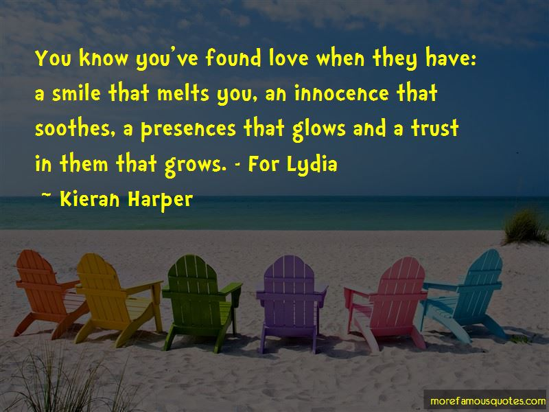 Kieran Harper Quotes
