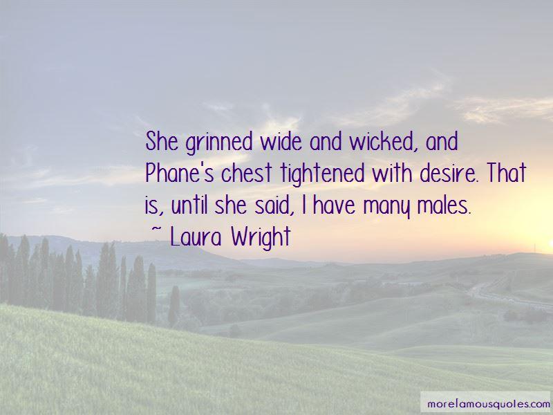 Laura Wright Quotes