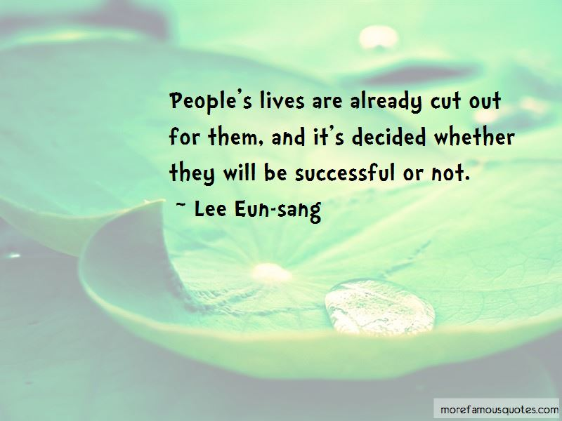 Lee Eun-sang Quotes Pictures 2