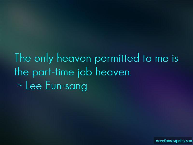Lee Eun-sang Quotes