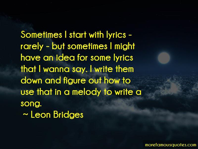 Leon Bridges Quotes Pictures 3