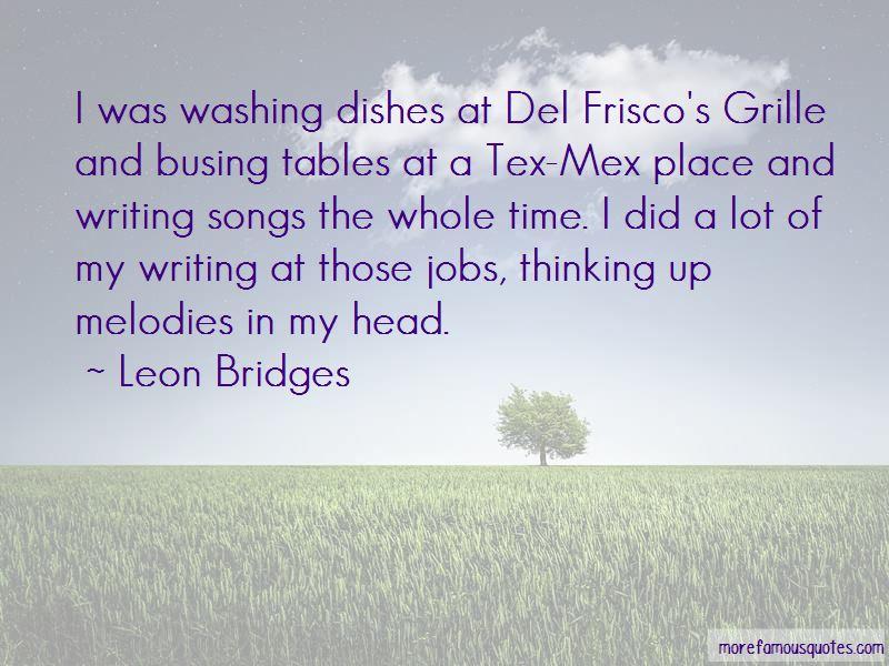Leon Bridges Quotes