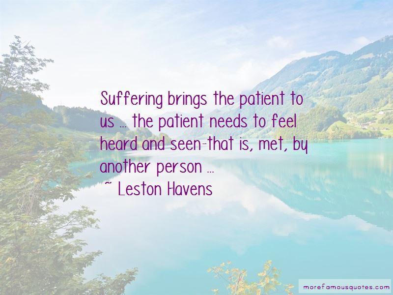 Leston Havens Quotes