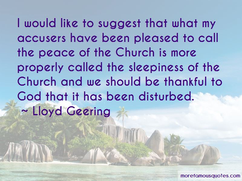 Lloyd Geering Quotes