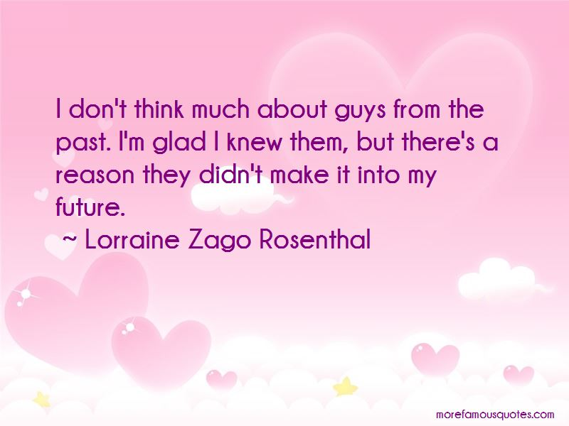 Lorraine Zago Rosenthal Quotes Pictures 2