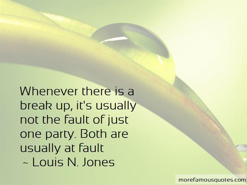 Louis N. Jones Quotes