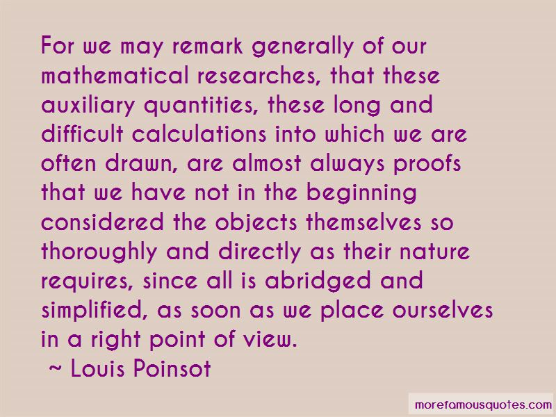 Louis Poinsot Quotes
