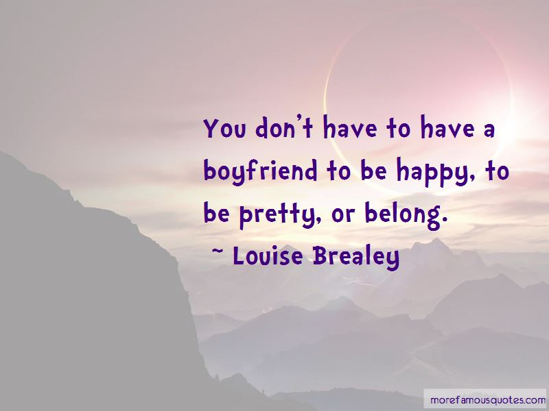 Louise Brealey Quotes Pictures 2