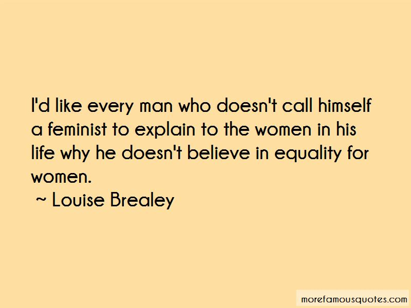 Louise Brealey Quotes