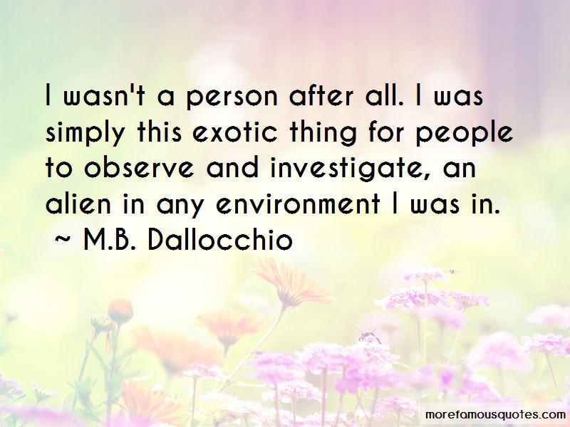 M.B. Dallocchio Quotes Pictures 2