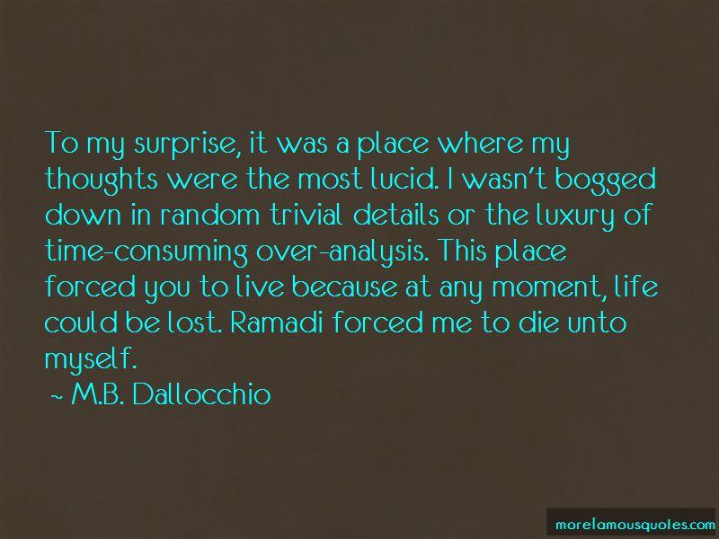 M.B. Dallocchio Quotes Pictures 4
