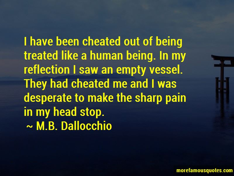 M.B. Dallocchio Quotes