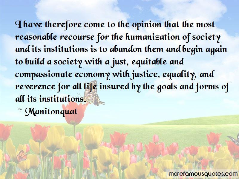 Manitonquat Quotes