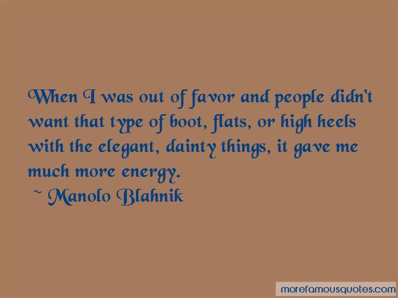 Manolo Blahnik Quotes