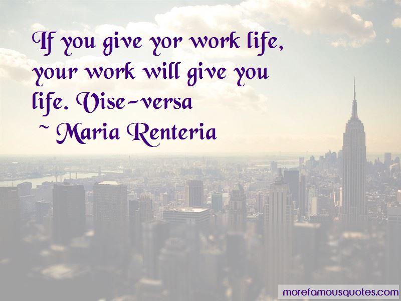 Maria Renteria Quotes
