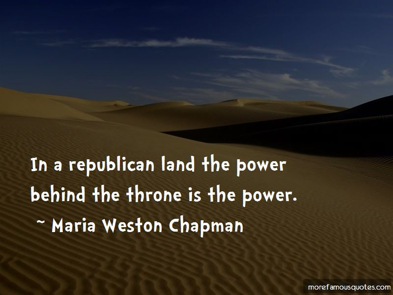 Maria Weston Chapman Quotes