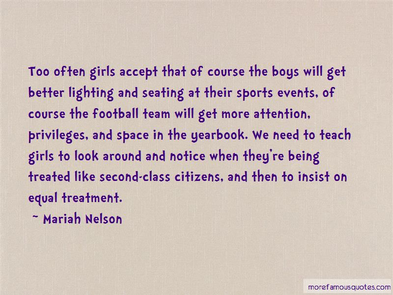 Mariah Nelson Quotes