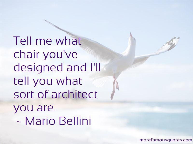 Mario Bellini Quotes Pictures 2