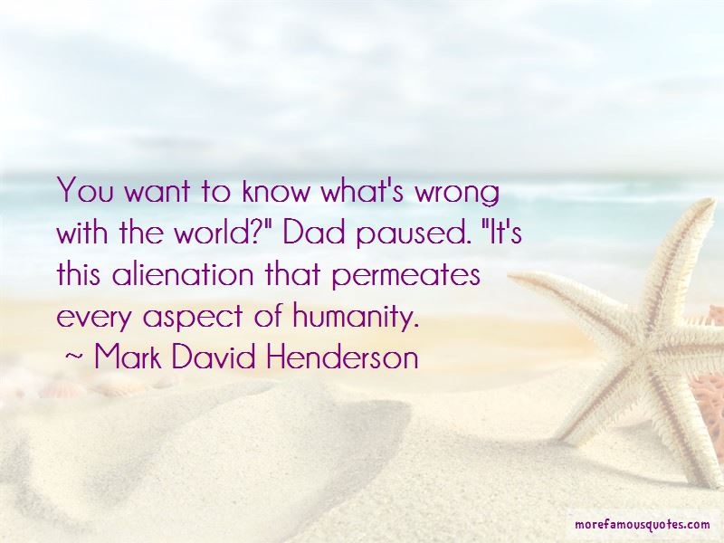 Mark David Henderson Quotes Pictures 2