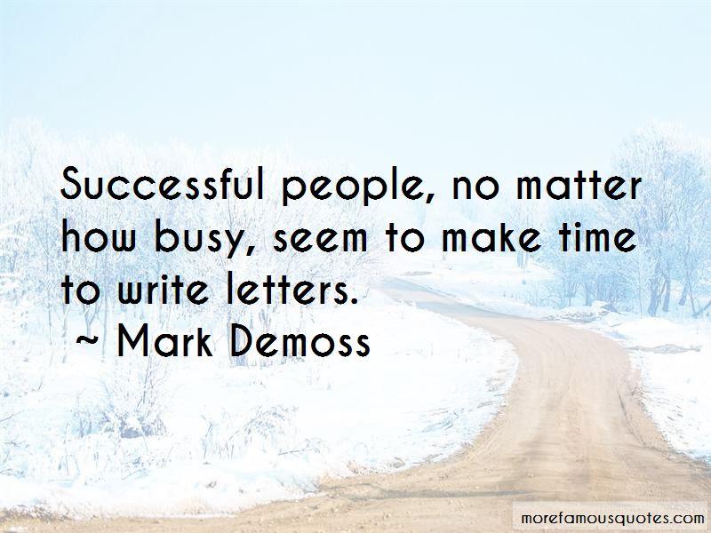 Mark Demoss Quotes