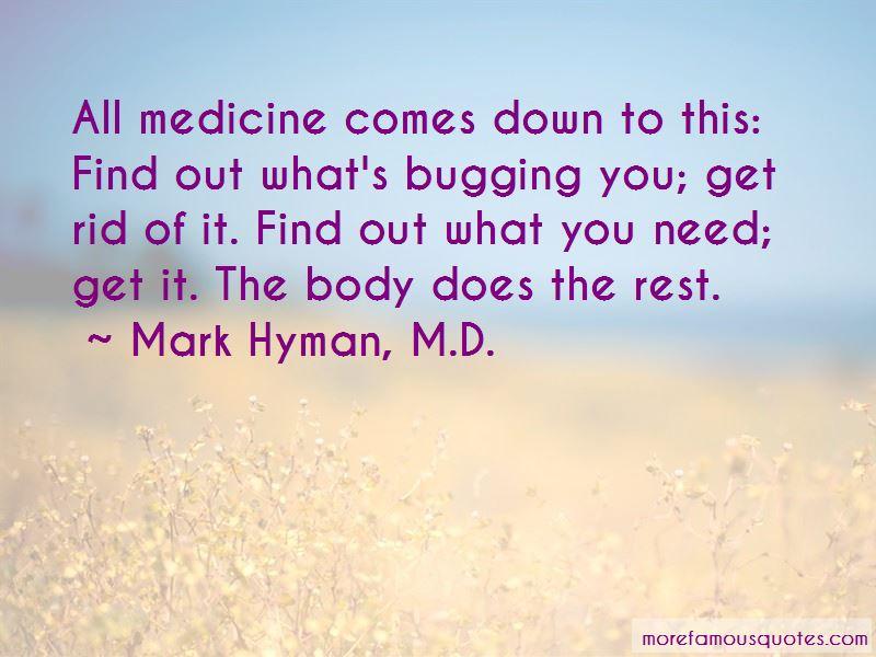 Mark Hyman, M.D. Quotes