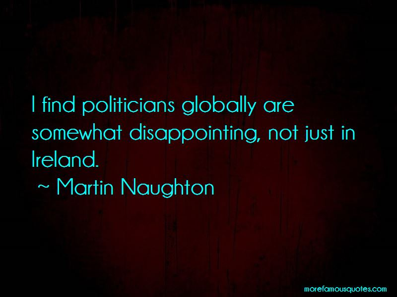 Martin Naughton Quotes