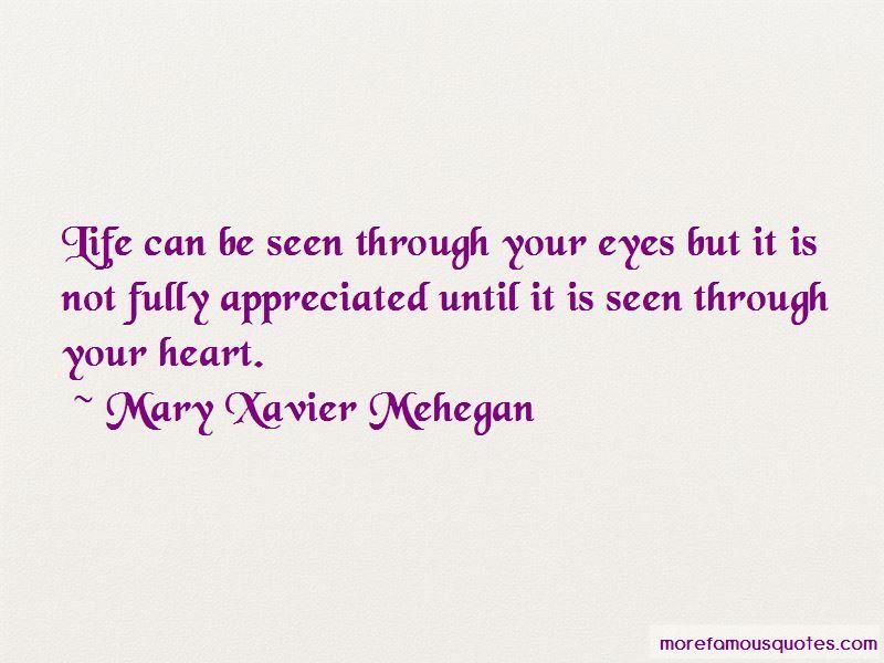 Mary Xavier Mehegan Quotes