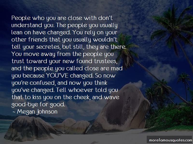 Megan Johnson Quotes