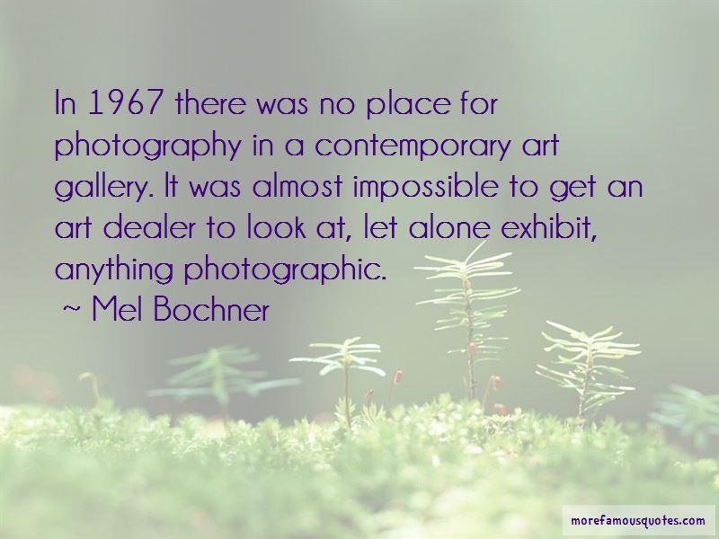 Mel Bochner Quotes
