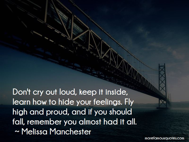 Melissa Manchester Quotes Pictures 2