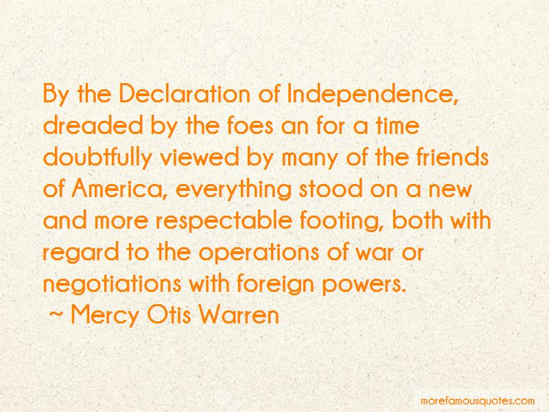 Mercy Otis Warren Quotes